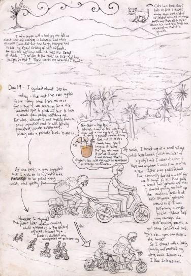 Indonesia by Folding Bike 12
